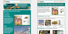 e-newsletters for Metso