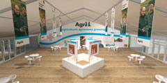 Agip Indoor Exhibition Area Concept