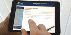 Interactive training for Eurostar - Introduction Documentation on iPad