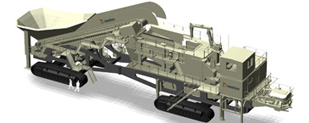 3D model of the giant Lokotrack LT200