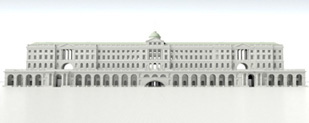 3d model of Somerset House
