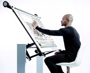 The Next Generation Interactive Touch Screen Drawing board