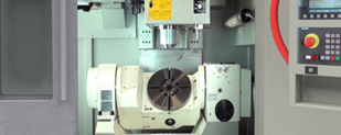 Dugard interactive digital e-brochure - detail of CNC Machine